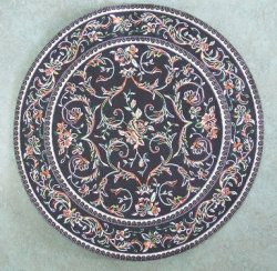 Large Round Rugs, Assorted Colors