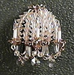 Crystal 3 Light Sconce