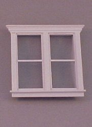 Atherton Plain Double Window