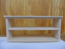 "1/2"" Open Display Shelf"