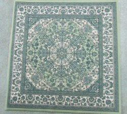 Square Rug, Assorted Colors