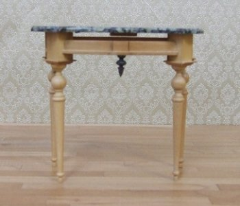 Marble Top Half Table