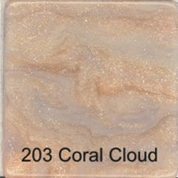 Faux Marble Tile - Coral Cloud