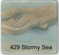 Faux Marble Tile - Stormy Sea
