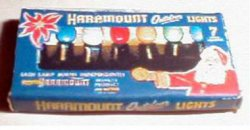 1937 Haramount Christmas Light Box