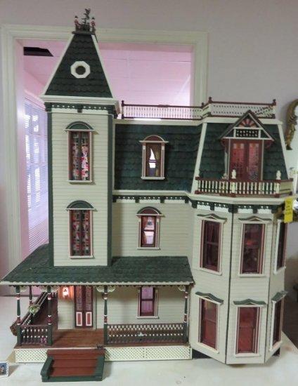 Swell Cream Victorian Dollhouse Starting Bid 3950 0 00 Download Free Architecture Designs Scobabritishbridgeorg