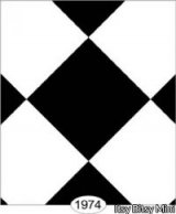 Black & White Tile Wallpaper