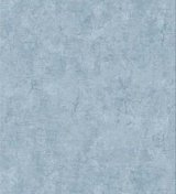 Birch Plaster Texture Blue Wallpaper