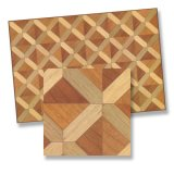 Faux Parquet Flooring, X 1pc