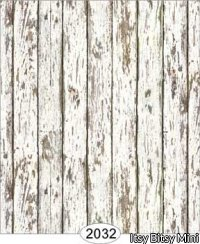Distressed Wood White Wallpaper - Click Image to Close