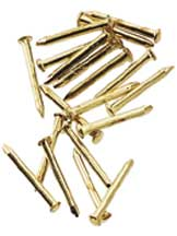 Brass 6mm Pin Nail 100pc/pkg.