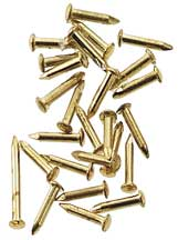 Brass 4mm Pin Nail 100pc/pkg.