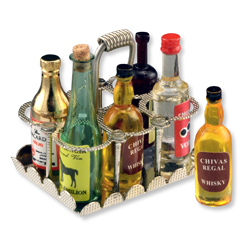 Antique Liquor Caddy
