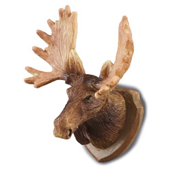 Moose Head Wall Trophy - Click Image to Close