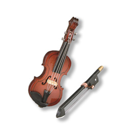Wood Violin w/ Bow