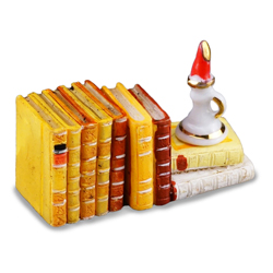 Reading Candle & Book Set