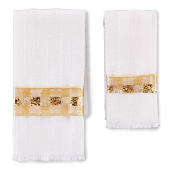 Beige Bath Towel Set