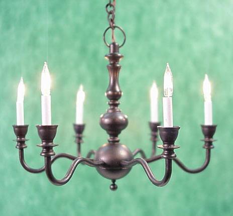 6 arm black candlelight chandelier ce1850330 13925 miniature 6 arm black candlelight chandelier click to enlarge mozeypictures Images