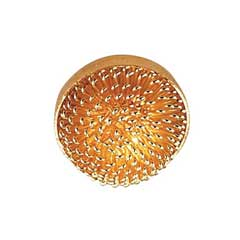 Gold Dome Ceiling Light