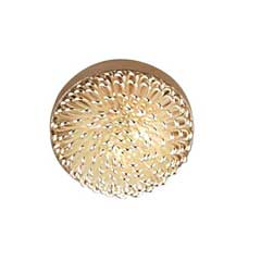 Silver Dome Ceiling Light