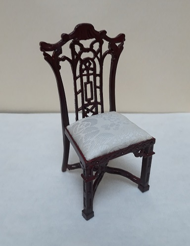 Chinese Chippendale Side Chair, MH - Click Image to Close