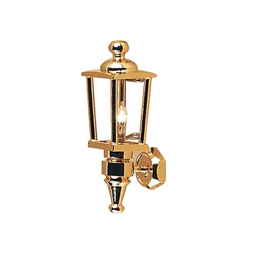 Carriage Lamp, Brass [HW2614]