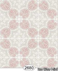 Rose Hill Tile, Pink/Grey