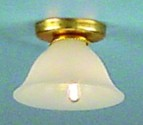 Bell Shade Ceiling Light