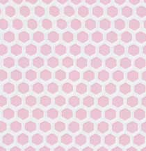 Pink Small Hexagon Tile