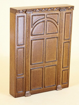 Manor Panel Unit, New Walnut