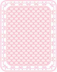 Pink Bows Floorcloth