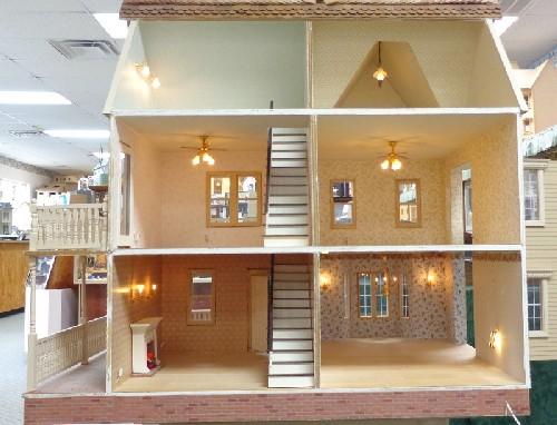 Victoria S Farmhouse Dollhouse Complete Upscaled Cmaf01