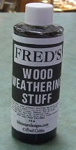 Fred's Wood Weathering Stuff