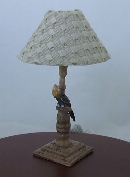Bird Lamp w/ Natural Ivory