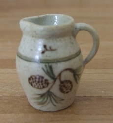 Pine Cone Pitcher, Pottery