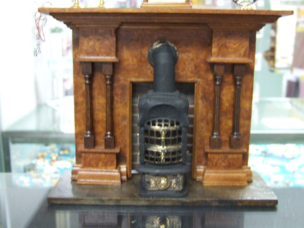 Fireplace Amboyan Wood Cdr153 210 00 Miniature