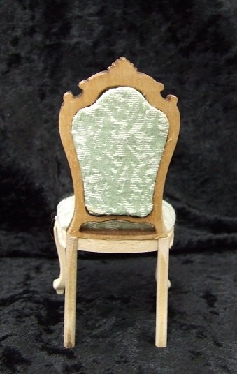 Carved Queen Anne Side Chair, Unfinished - Click Image to Close