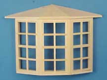 "1/2"" Bay Window 24-Lite"