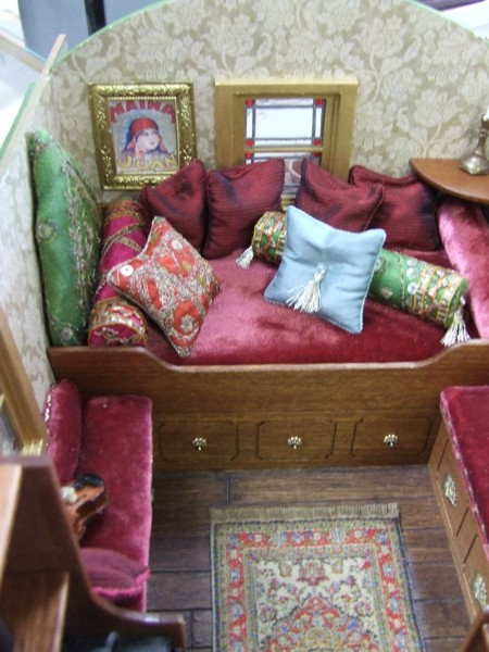 Gypsy Caravans Miniature Designs Full Service Dollhouse Miniature