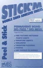 Double Sided Adhesive, 2 Sheets