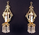Minuet Sconces, Pair