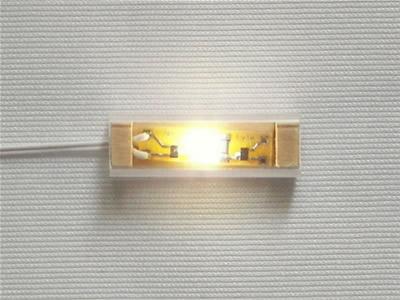 1 light strip bright white nls1bw 1199 miniature designs 1 light strip bright white click to enlarge aloadofball Images