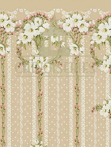 Wallflowers Wallpaper Lchpww 8 99 Miniature Designs