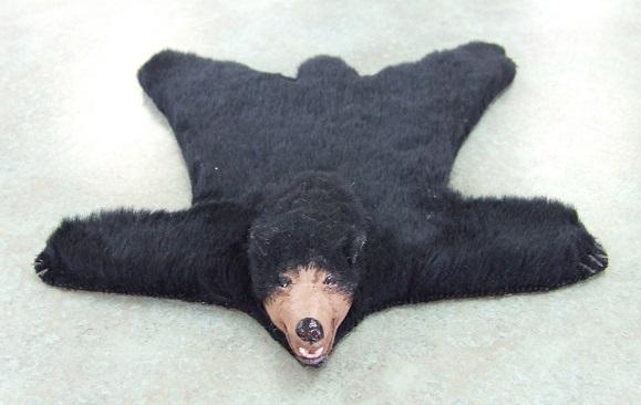 Bear Skin Rug, Faux [TFF001] - $149.99