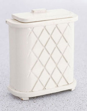 Clothes Hamper, White