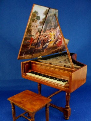 Italian Harpsichord And Bench Cdr013 799 99