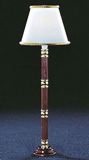 Stained Base, Floor Lamp