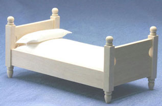 Single Bed, Unfinished