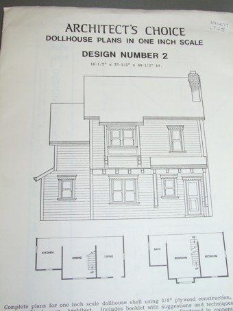 architects choice dollhouse plan 2 click to enlarge