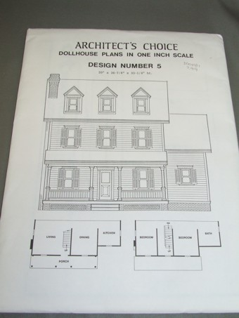 Architect's Choice Dollhouse Plan #5 - Click Image to Close